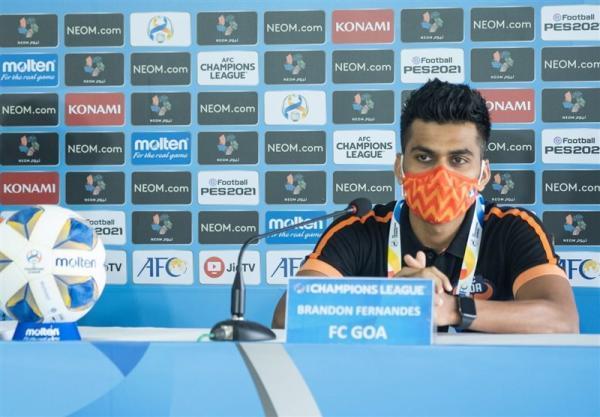 بازیکن گوا: سطح لیگ قهرمانان آسیا با لیگ هند متفاوت است، هنوز چیزهای زیادی برای اثبات کردن داریم